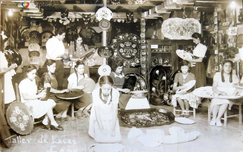 TALLER DE LACAS Hacia 1940