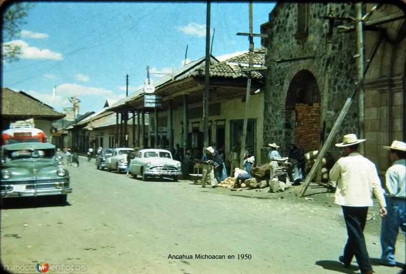 ECENA CALLEJERA Hacia 1950
