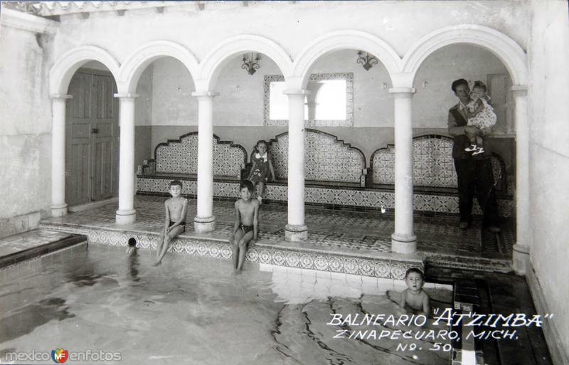 BALNEARIO ATZIMBA Hacia 1945