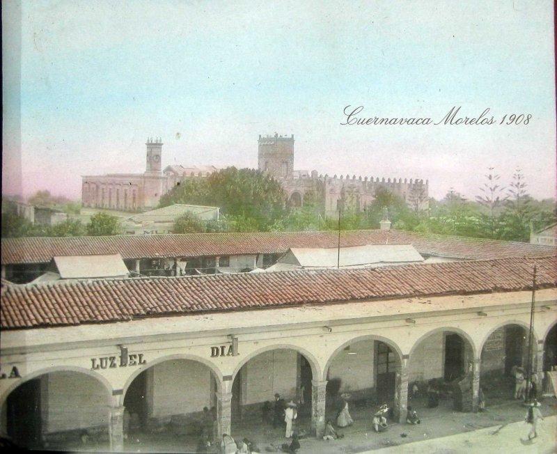 PANORAMA Y PALACIO DE CORTES Hacia 1909