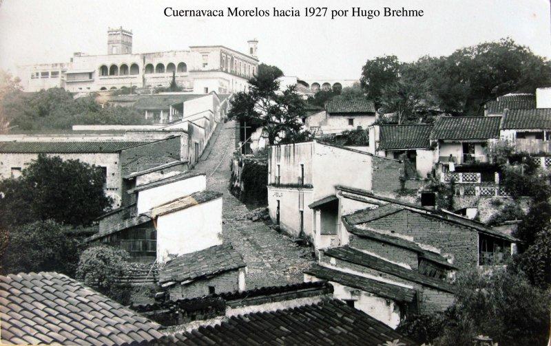 PALACIO DE CORTES por el fotografo HUGO BREHME Hacia 1930