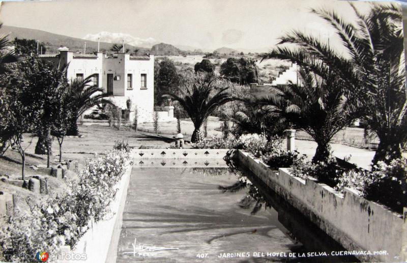 HOTEL DE LA SELVA Hacia 1945