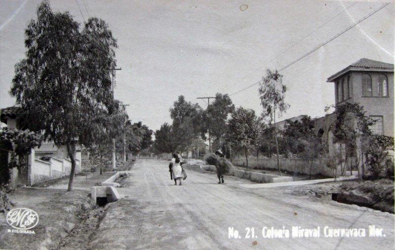 COLONIA MIRAVAL Hacia 1945