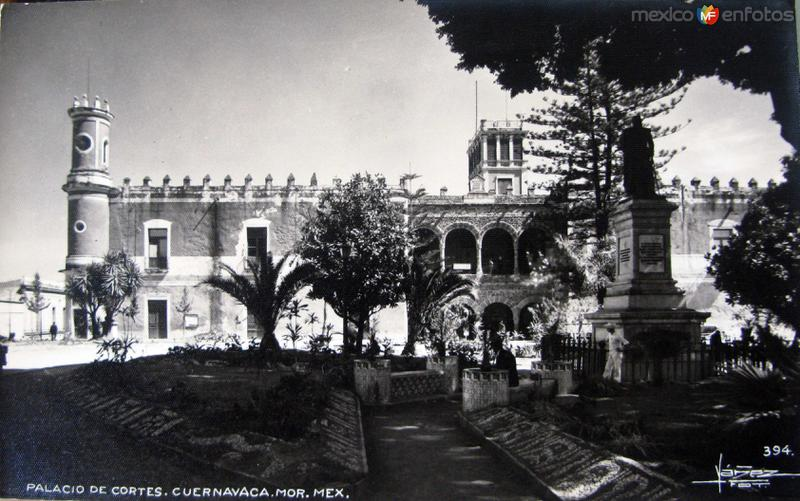 PALACIO DE CORTES Hacia 1945