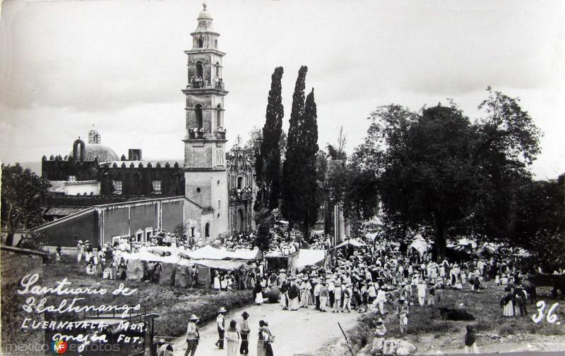 IGLESIA TLALTENCINGO Hacia 1945