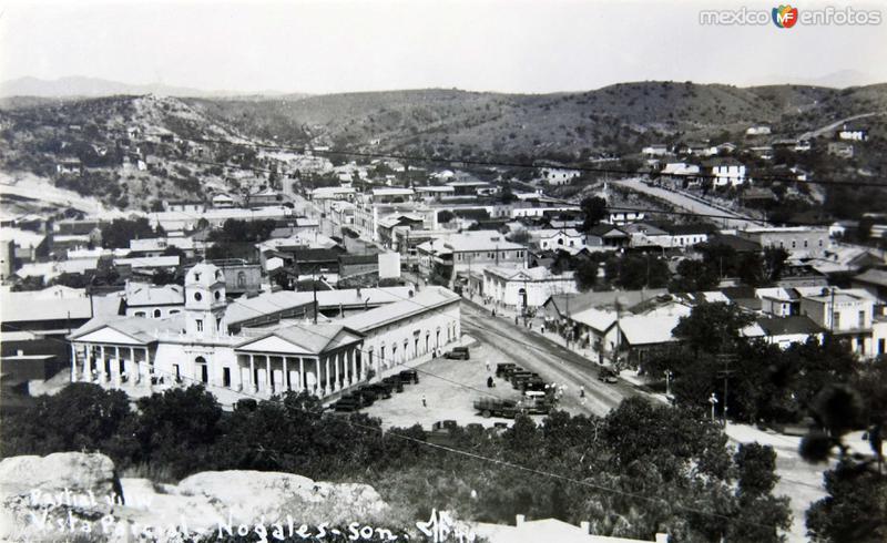 Fotos de Nogales, Sonora, M�xico: PANORAMA Hacia 1945