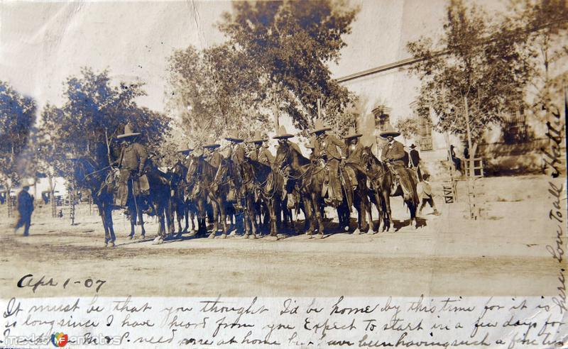 FUERZAS FEDERALES Hacia 1909