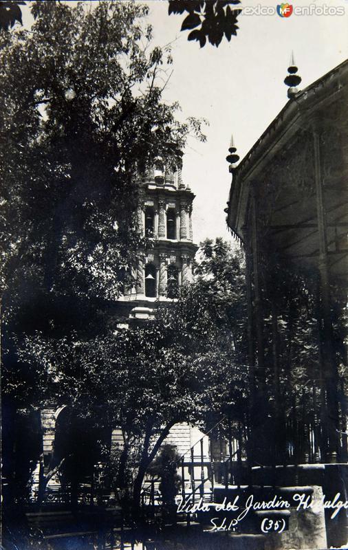 JARDIN HIDALGO Hacia 1945