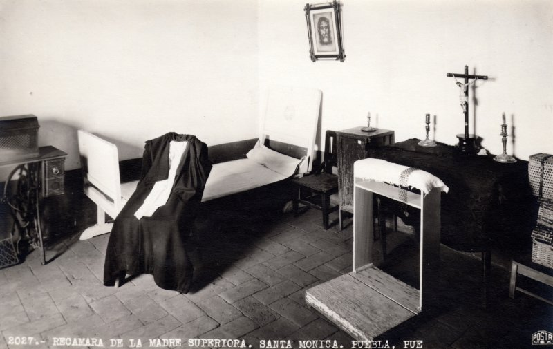 Recámara de la Madre Superiora, en el Convento de Santa Mónica