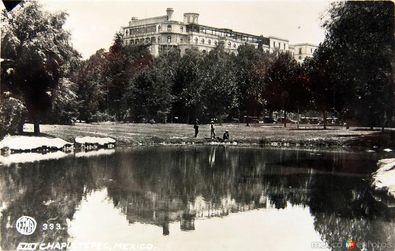 Fotos de Ciudad de México, Distrito Federal, México: CASTILLO DE  CHAPULTEPEC Hacia 1945