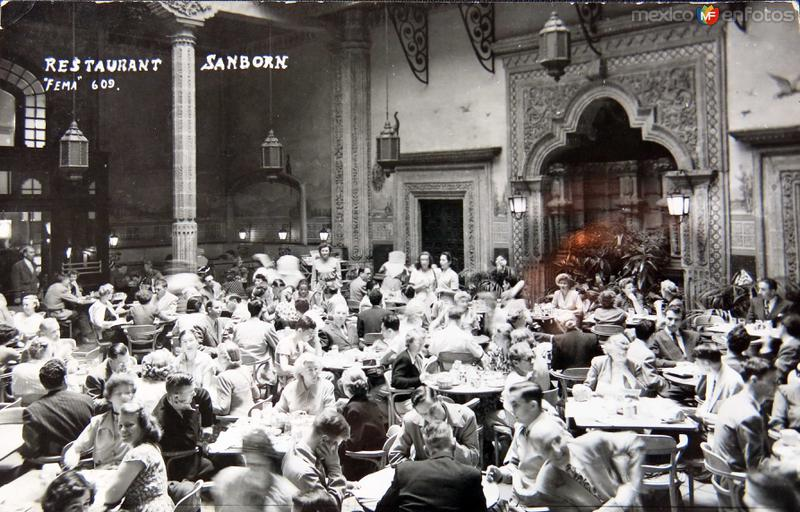 RESTAURAANT SAMBORNS Hacia 1945