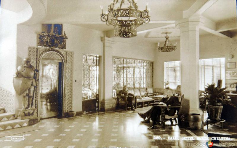 HOTEL MARIA CRISTINA Hacia 1945