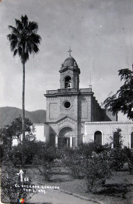 IGLESIA SAGRDO CORAZON DE JESUS Hacia 1945