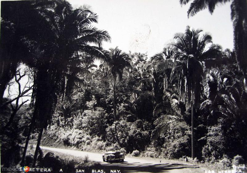 CARRETERA A Hacia 1945
