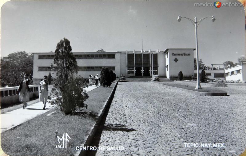 Fotos de Tepic, Nayarit, M�xico: CENTRO DE SALUD Hacia 1945
