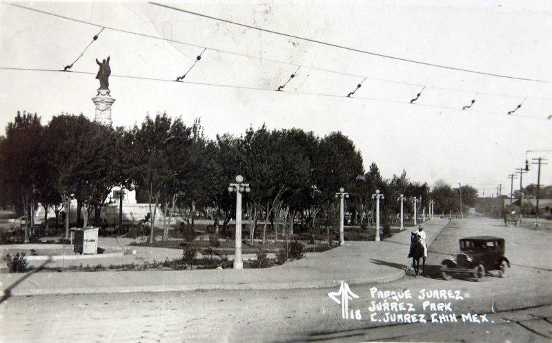 Fotos de Ciudad Juárez, Chihuahua, México: PARQUE JUAREZ Hacia 1930
