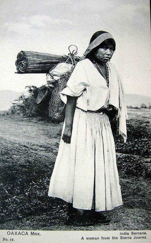 TIPOS MEXICANOS INDIA Hacia 1909