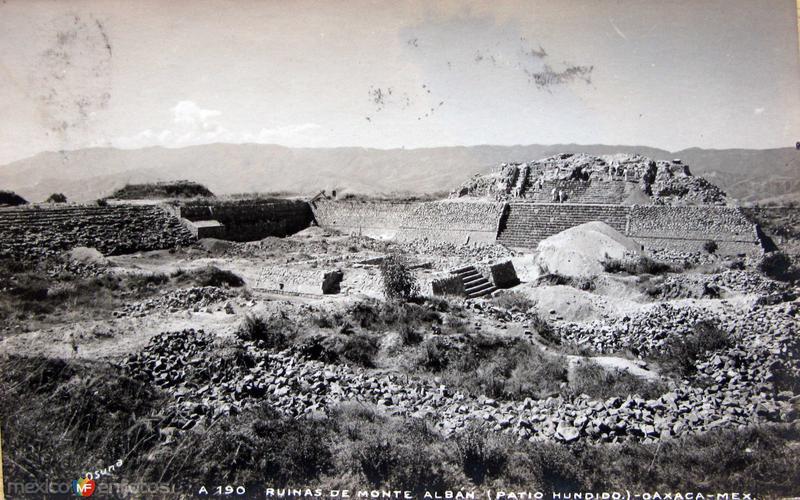 LAS RUINAS HACIA 1945