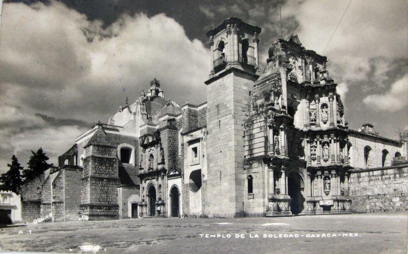 PANORAMA CATEDRAL DE LA SOLEDAD Hacia 1945