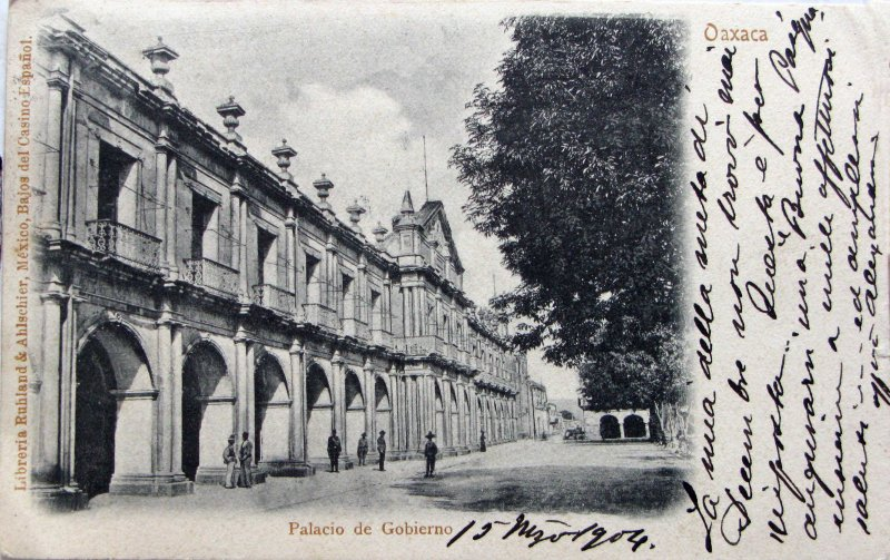 PALACIO DE GOBIERNO Hacia 1904