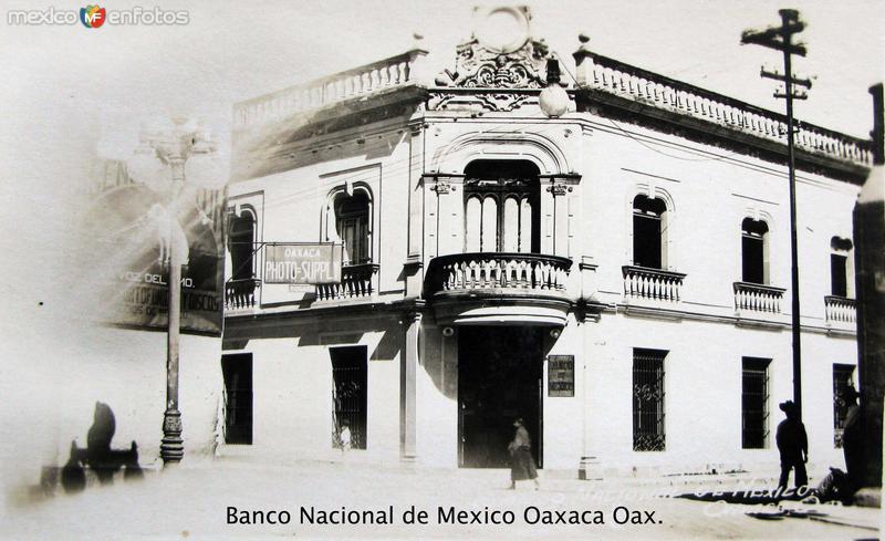 BANCO NACIONAL Hacia 1930