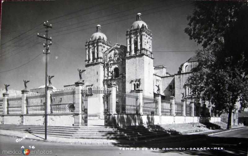DEL EXCONVENTO DE STO. DOMINGO Hacia 1945