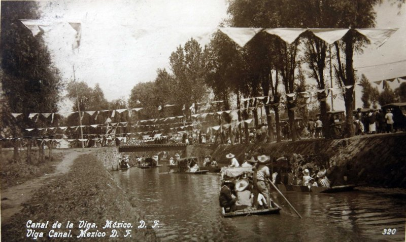 CANAL DE LA VIGA Hacia 1930