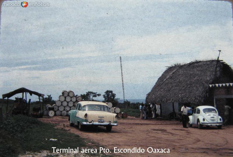 TERMINAL AEREA Hacia 1957