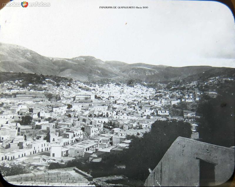 PANORAMA DE GUANAJUARTO Hacia 1900