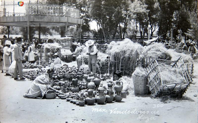 ALREDEDORES TIPOS MEXICANOS Hacia 1935