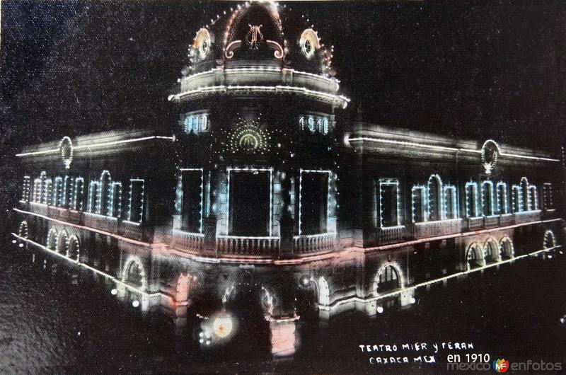 TEATRO MIER Y TEHERAN 15 DE SEPTIEMBRE DE 1910