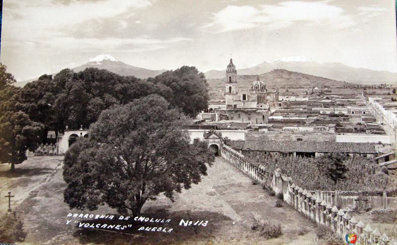 PANORAMA E IGLESIAS HACIA 1945