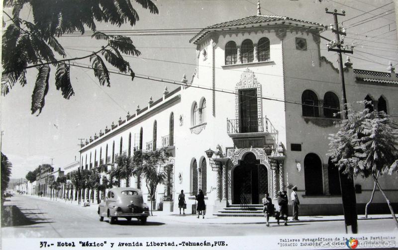 AVENIDA LIBERTAD Hacia 1945