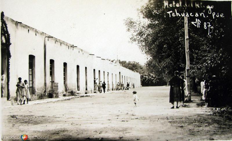 HOTEL HIDALGO Hacia 1930