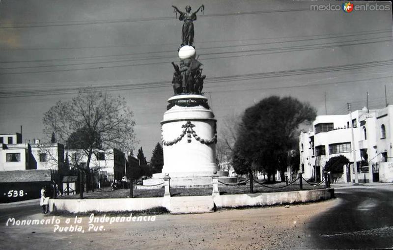 MTO. A LA INDEPENDENCIA PANORAMA Hacia 1945