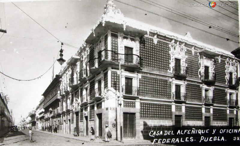 OFICINAS FEDERALES Hacia 1945