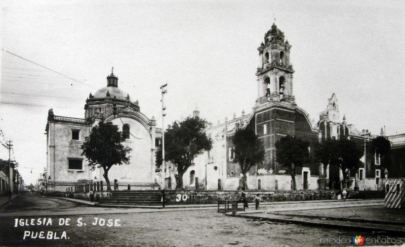 IGLESIA DE SAN JOSE Hacia 1945