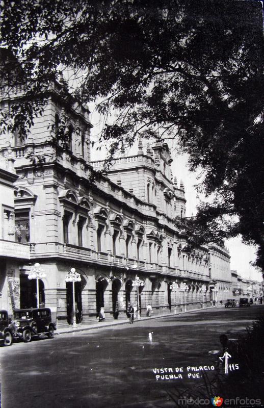 VISTA DEL PALACIO Hacia 1945