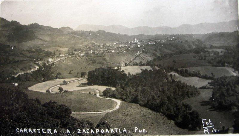 PANORAMA CARRETERO Hacia 1945