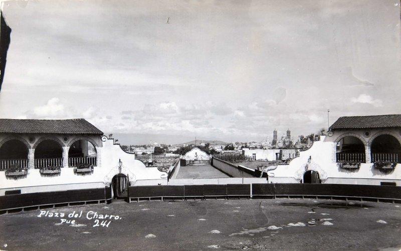 PLAZA DEL CHARRO Hacia 1945
