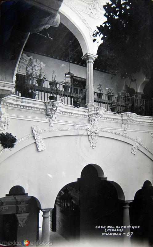 LA CASA DEL ALFENIQUE Hacia 1945
