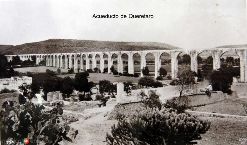 EL ACUEDUCTO Hacia 1930