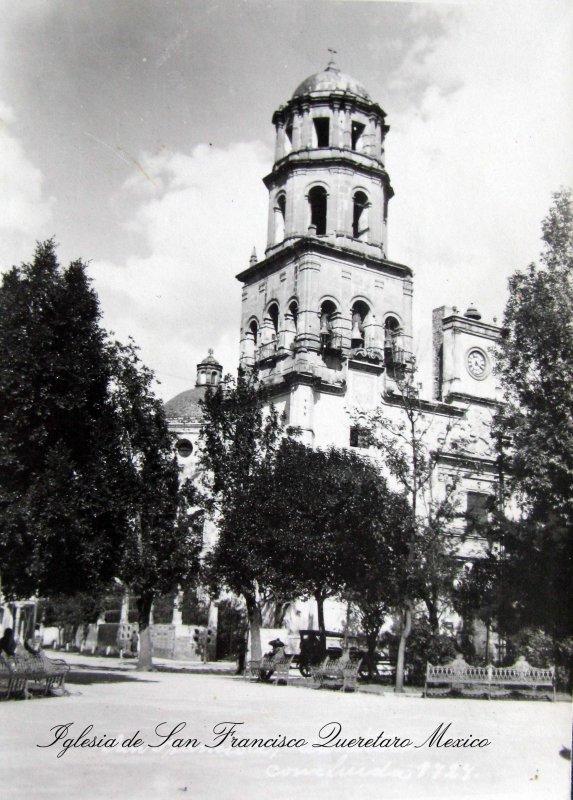 PANORAMA E IGLESIA DE SAN FRANCISCO Hacia 1920