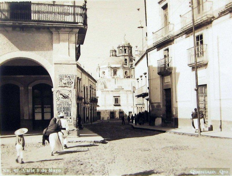 PANORAMA CALLE 5 DE MAYO Hacia 1930