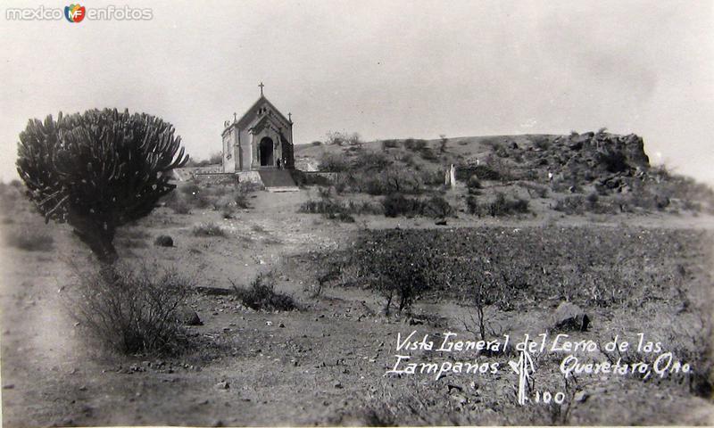 CERRO DE LAS CAMPANAS PANORAMA Hacia 1930