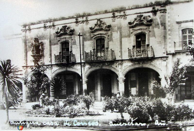 ANTIGUA CASA DE CORREOS Hacia 1945