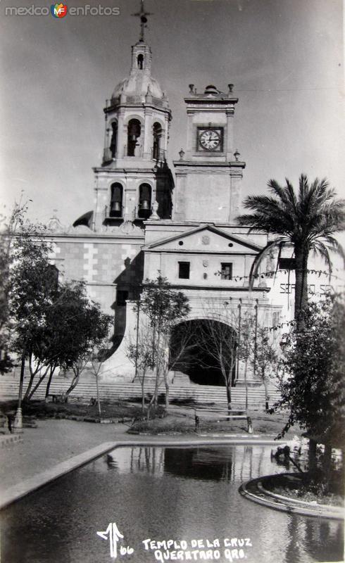 Templo de la cruz Hacia 1945
