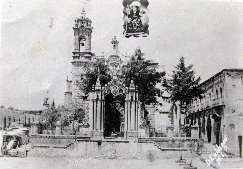 IGLESIA DE CALDERON Hacia 1940