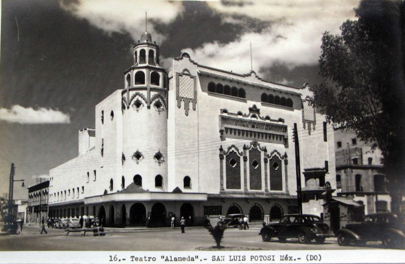 TEATRO ALAMEDA Hacia 1945