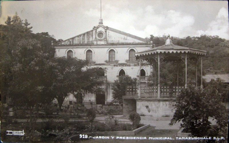 PRESIDENCIA MUNICIPAL PANORAMA Hacia 1945